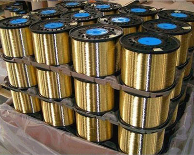 Secondary High Carbon Single Filament Brass Plated Hose Wire
